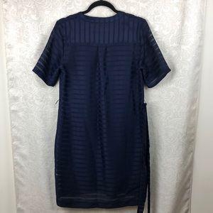 Banana Republic Factory Dresses - Banana Republic || Navy Striped Dress